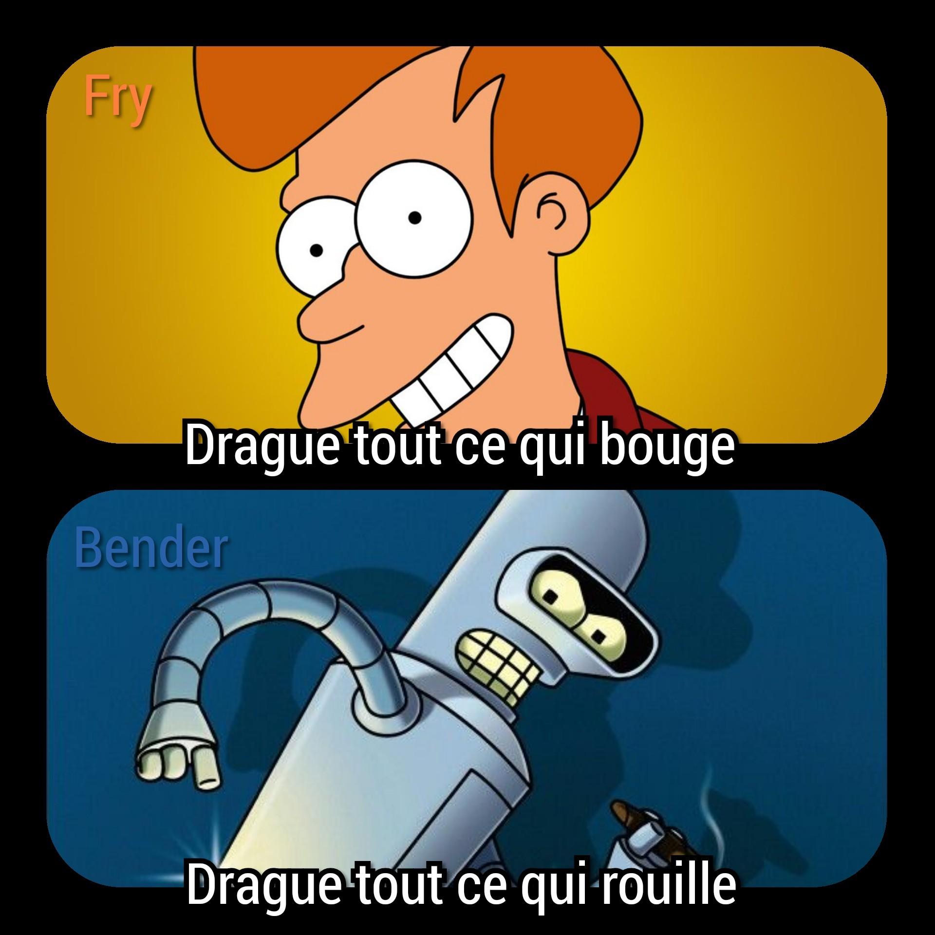 La dualité robotique - meme