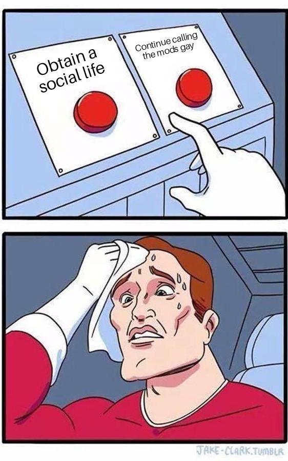 Life/mods - meme