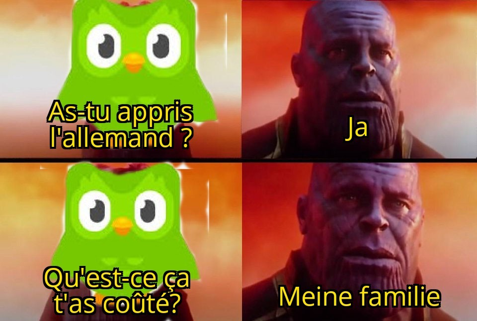 OuPS Tu AS LouPé Ta leçON - meme