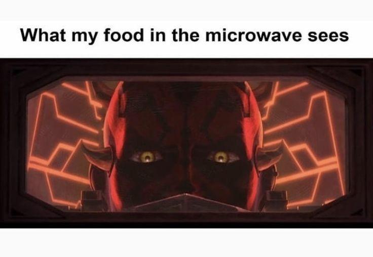 Food, delicious food. - meme