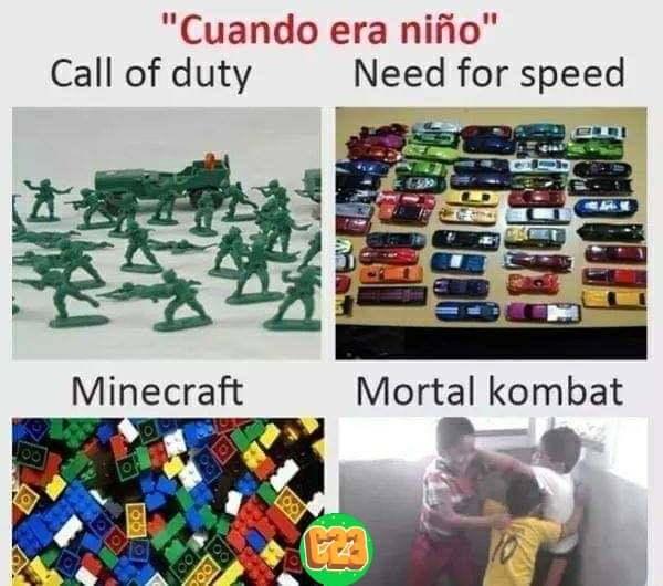 tiempos aquellos - meme