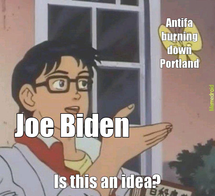 Joe has gotta go - meme