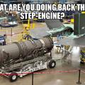 Step rocket