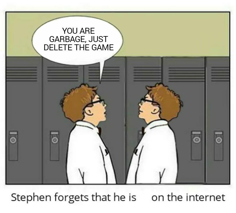 Stephen Forgets - meme
