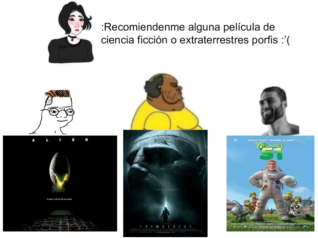 Tremenda película - meme