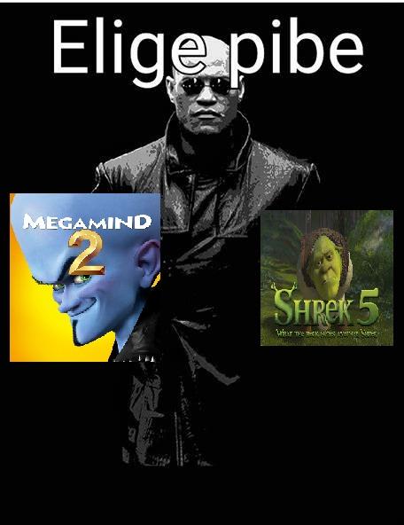 shrek 5 o megamente 2 - meme