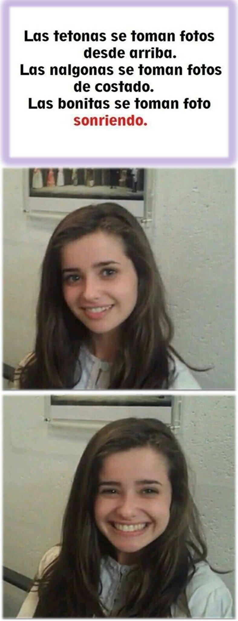 *Solo una sonrisa basta* - meme