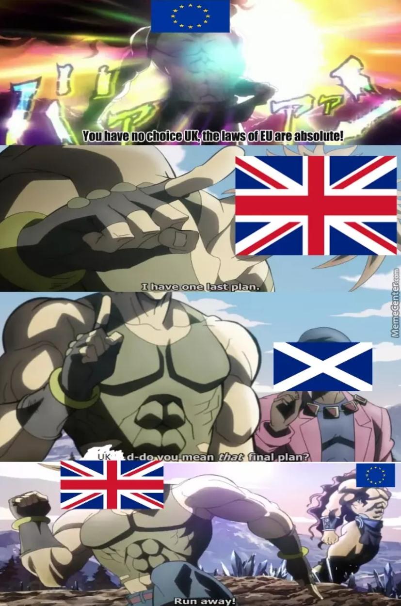 Ya boi got his final plan - meme