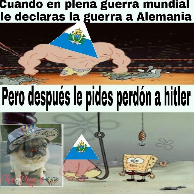 San marino contra nazis - meme