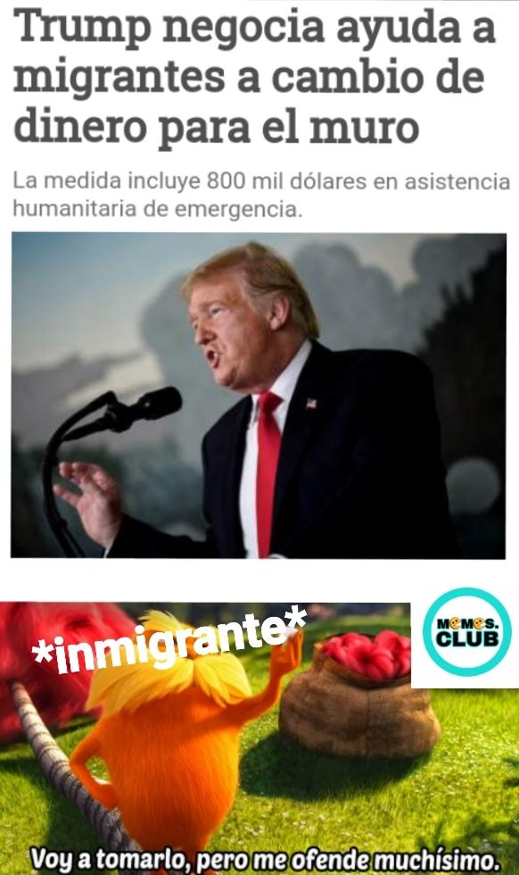 Trump: podre ser un estupido, pero no un idiota - meme