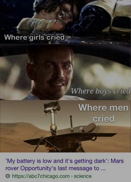 Sra. NASA eu não me sinto muito bem... - meme