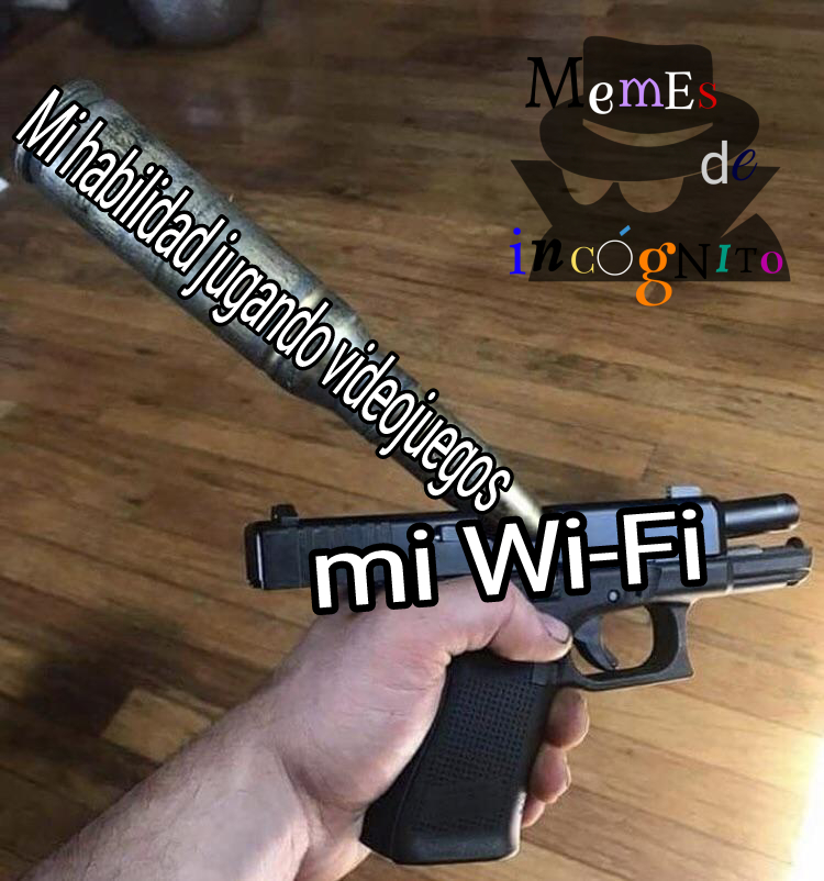 Pto wifi que no va sad - meme