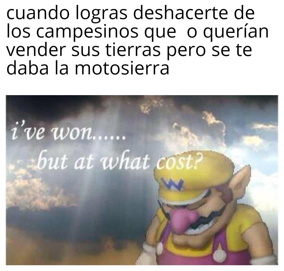 Motosierras marca Uribe - meme