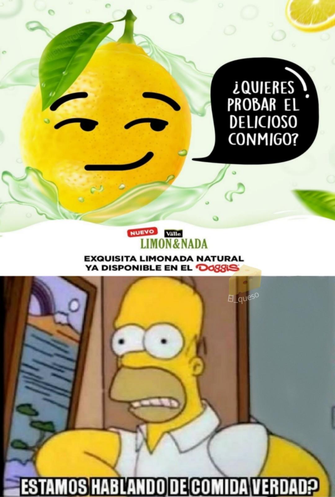 A comer limon - meme