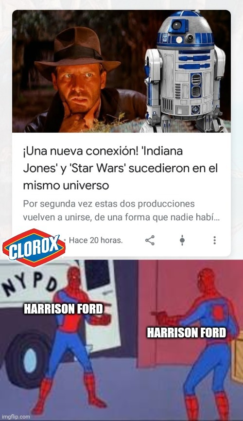 Han Solo/Indiana Jones :genius: - meme