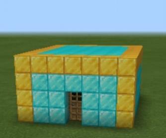 mi casa de minecraft cuando yo tenia 8 años xD - meme