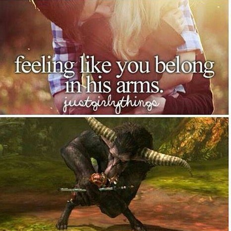 only hunters knows - meme