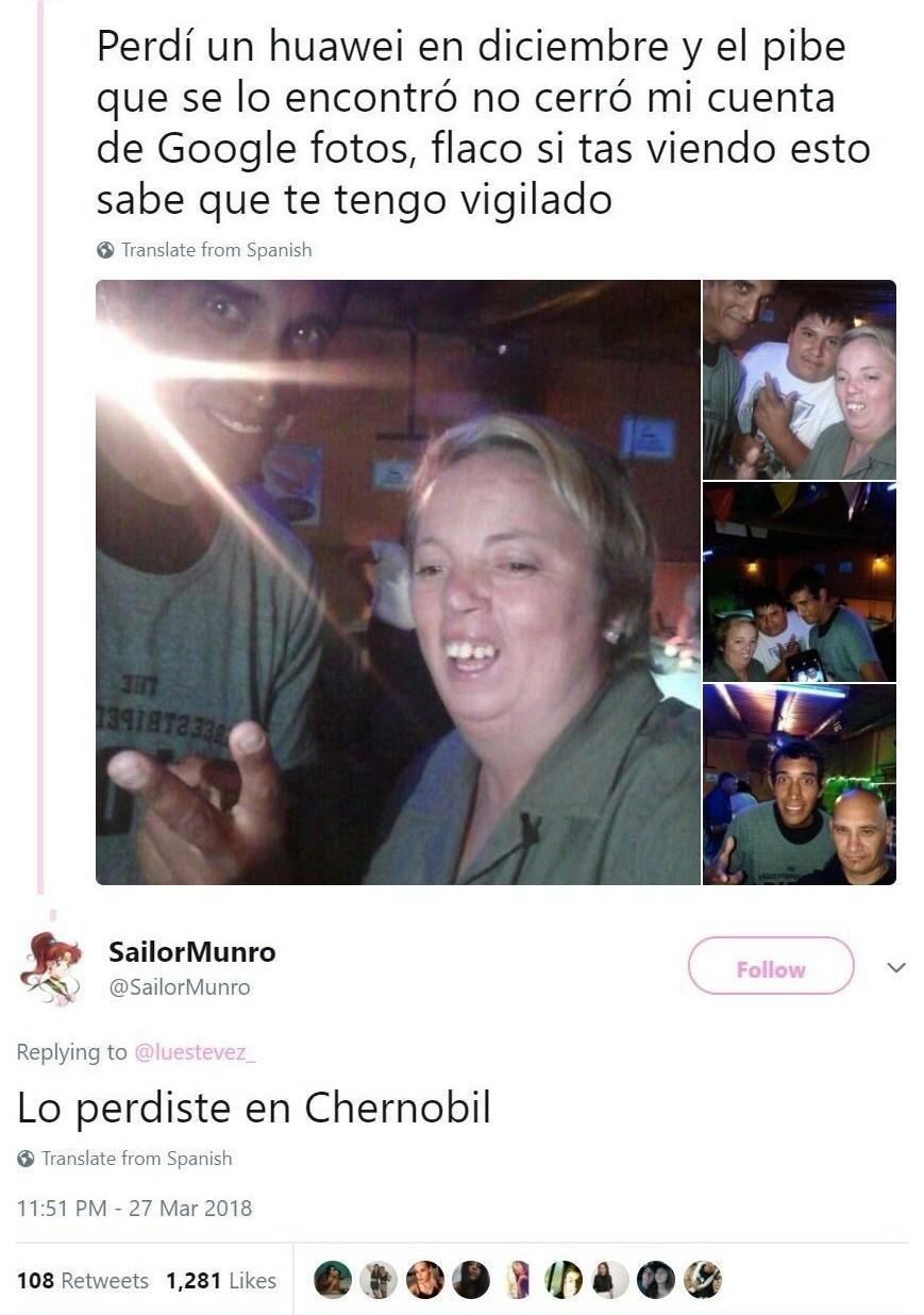 Chernobil - meme