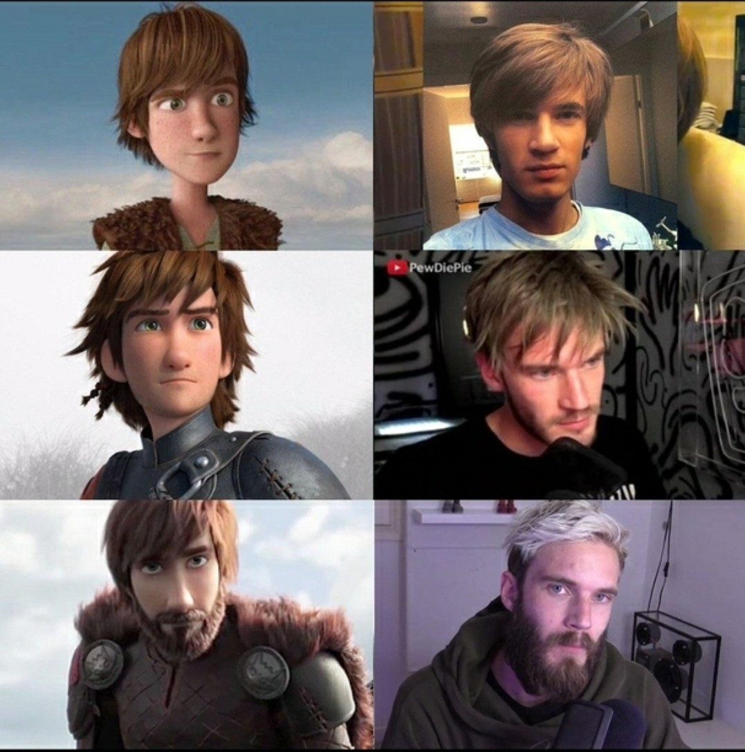 PewDiePie Evolution - meme