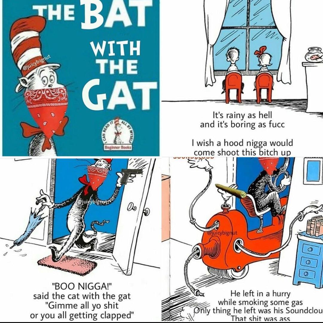 bat wit gat - meme