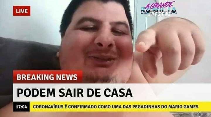 Mário Gomes - meme