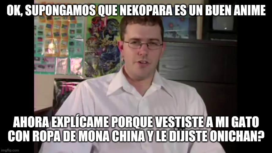 Nekopara, imán de gordos termotanques de sandwiches de pollo - meme