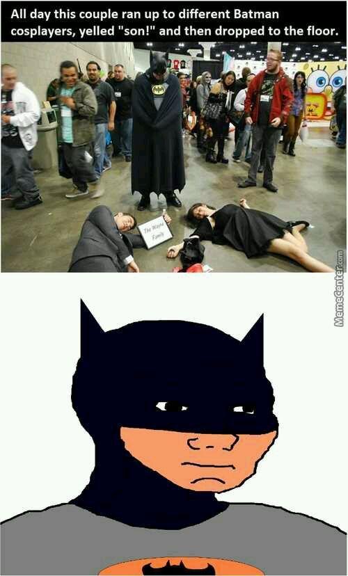 Sad batman noises - meme