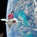 when haces tus momos en el espacio