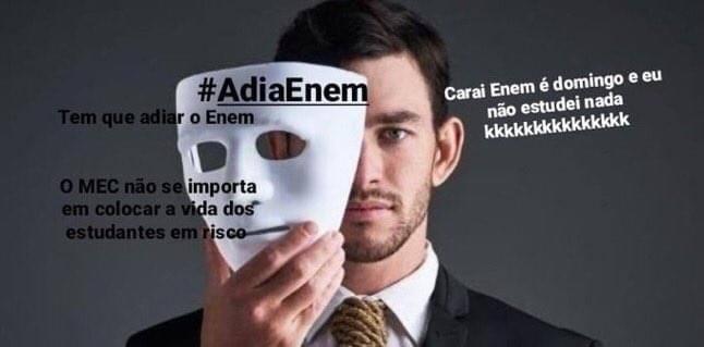 Enem 2020/2021 - meme