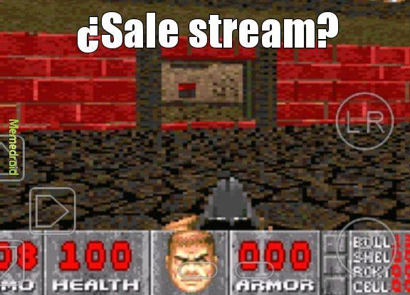 Por más que quisiera que saliera stream solo tengo 800 MG de memoria en el celu y no puedo comprar un tarjeta SD :okay: - meme