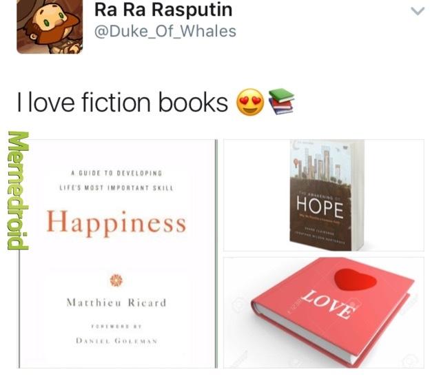 Fiction - meme