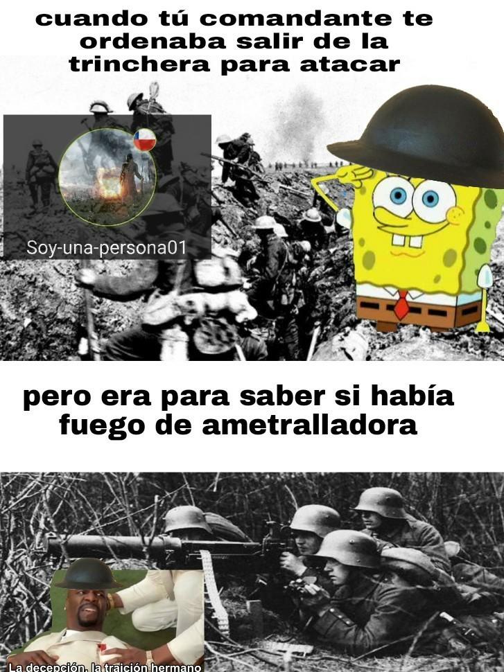Primera guerra mundial - meme
