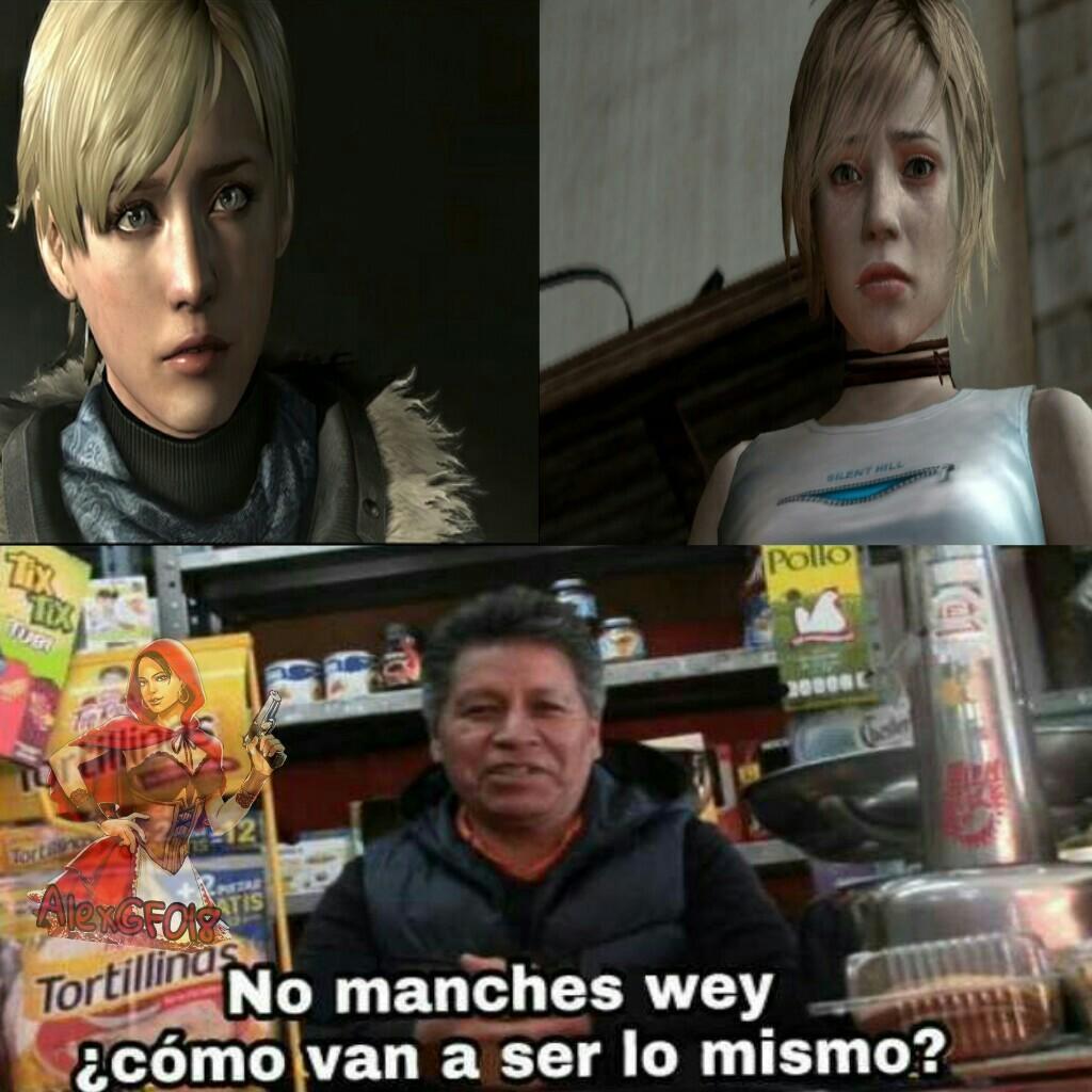 Resident Evil o Silent Hill - meme