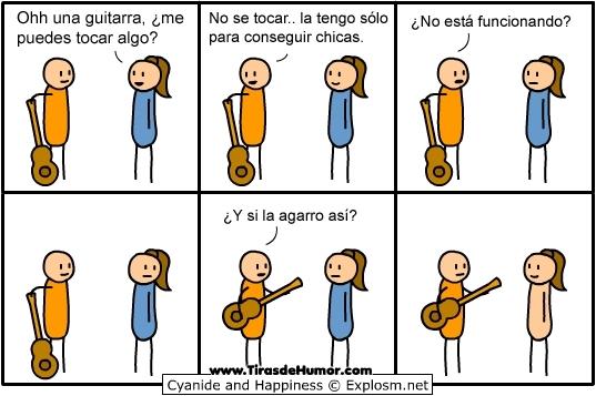 Guitarra - meme