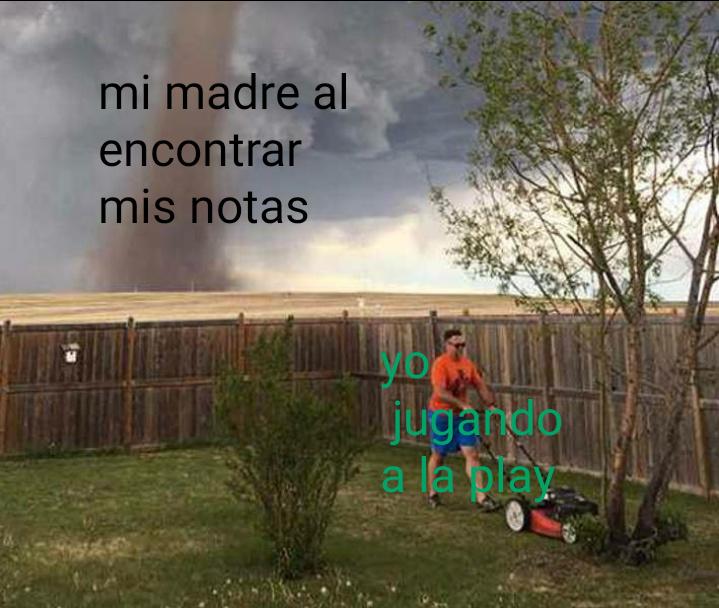 Maldito fin de curso - meme