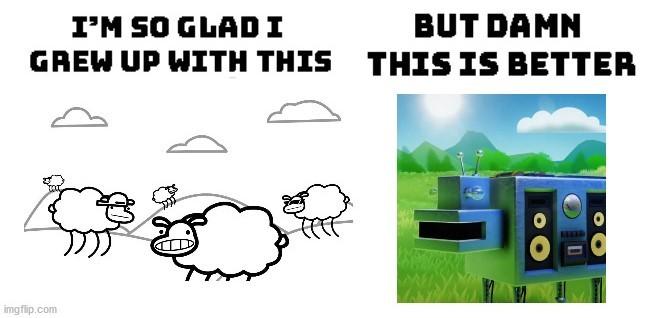 Beep beep i'm a sheep - meme