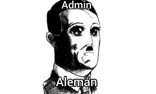 Admin aleman nooooo - meme
