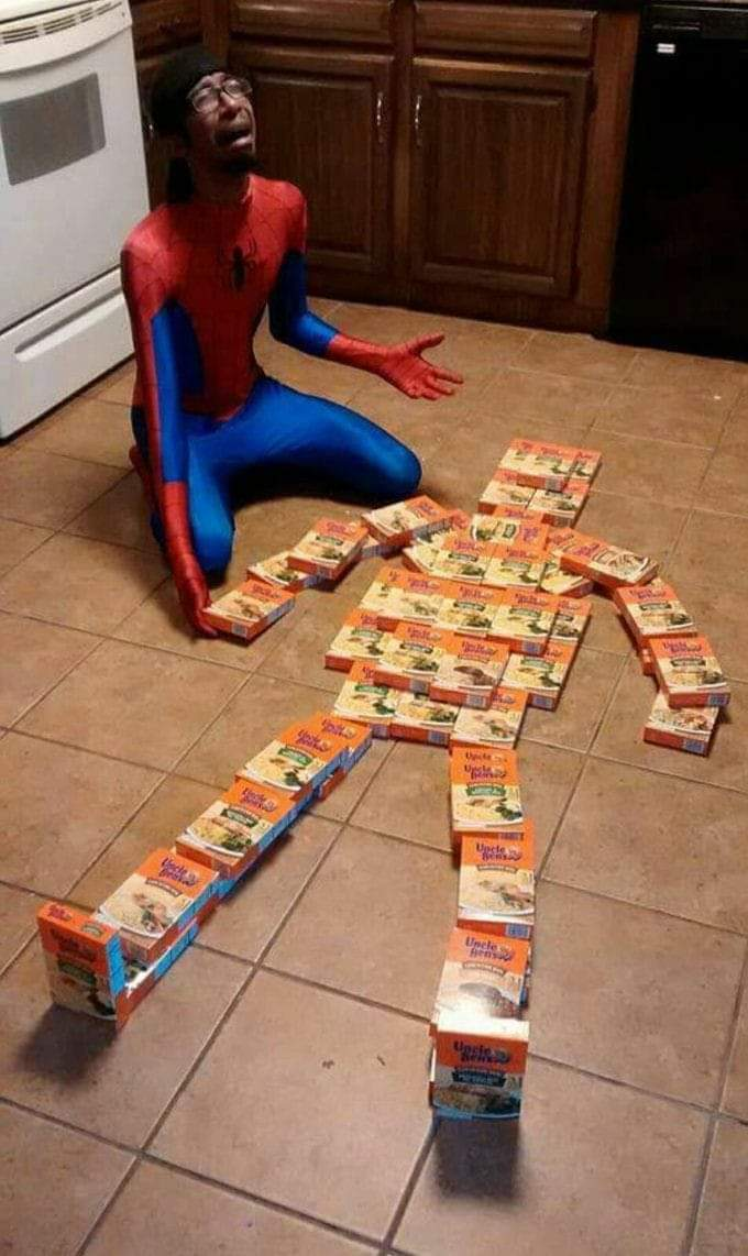 Nooooo, not Uncle ben - meme