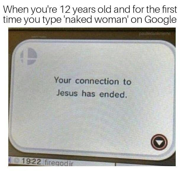 Discovering internet for the first time - meme