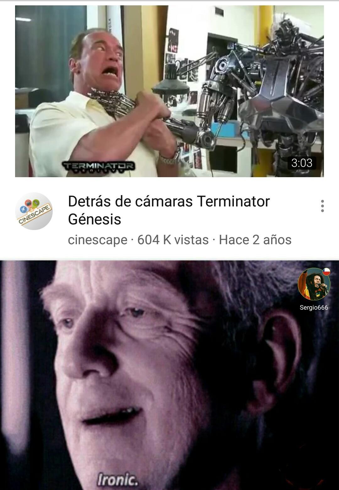 Terminator - meme
