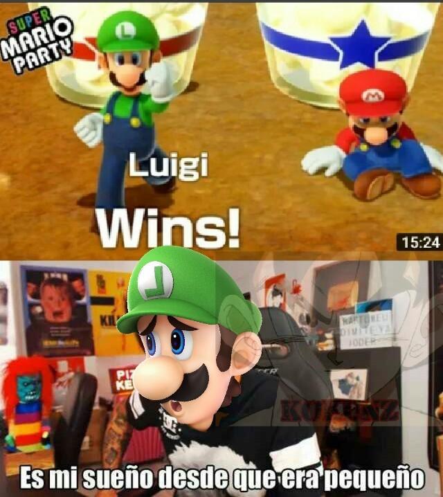 Viva el Mario Verde - meme