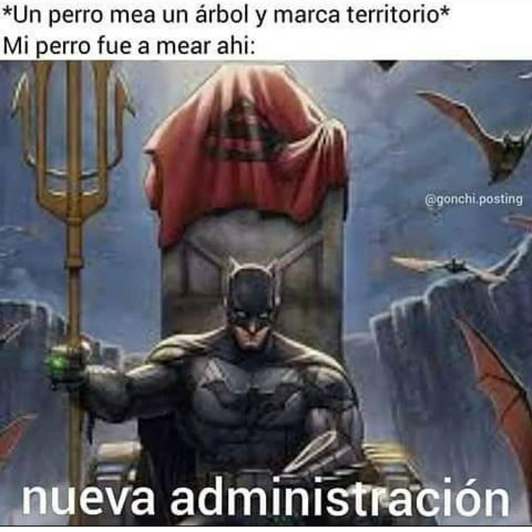 Nueva administración - meme