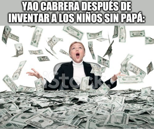 Dinero dinero dinero dinero - meme