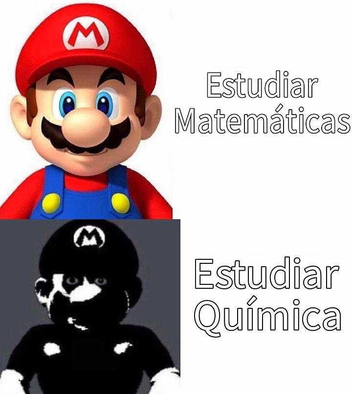 Química es la tortura matemática creada por el hombre - meme