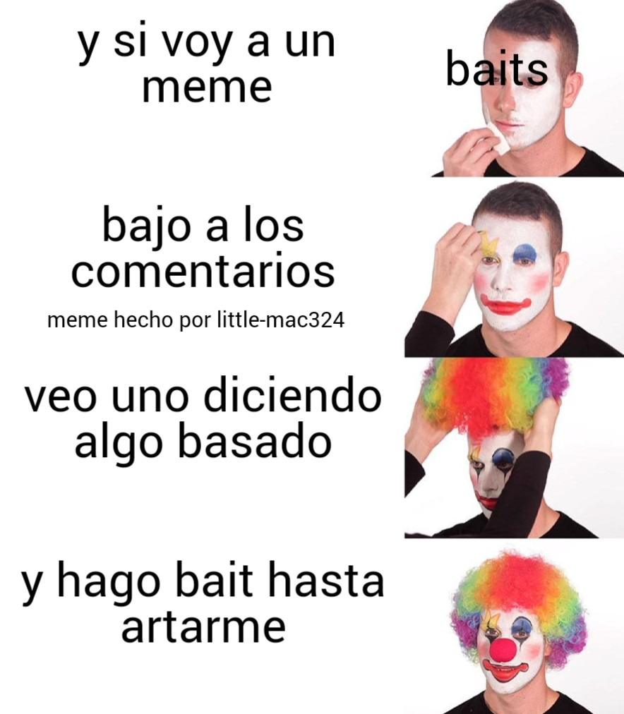 baits resumidos - meme
