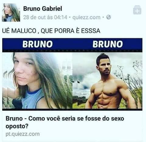 Bruna ficou putassa - meme