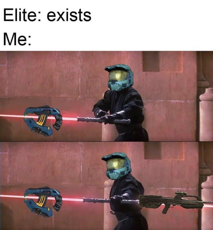 This method helped me through Halo 2 Legendary - meme