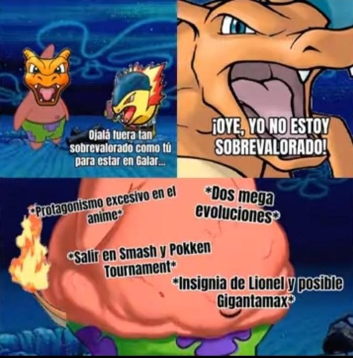 Soy fan de pokemon :P - meme