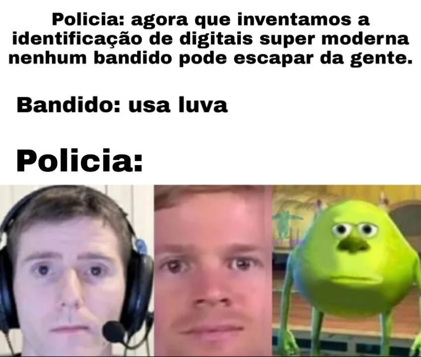 Polícia - meme