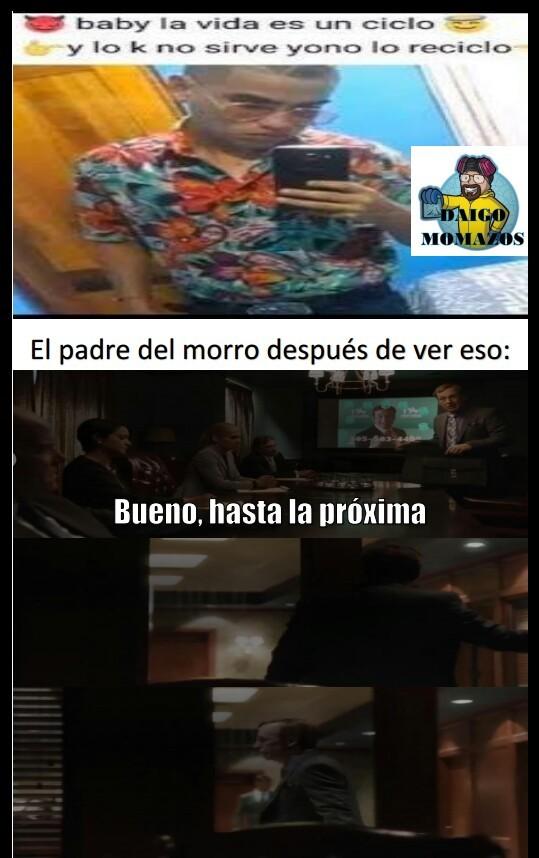 Nueva plantilla de Better Call Saul - meme